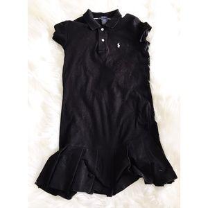 Ralph Lauren black polo dress size S/P